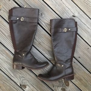 Tommy Hilfiger Wide Calf Gallop Riding Boots